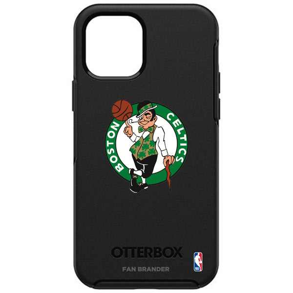 OtterBox Black Phone case with Boston Celtics Primary Logo