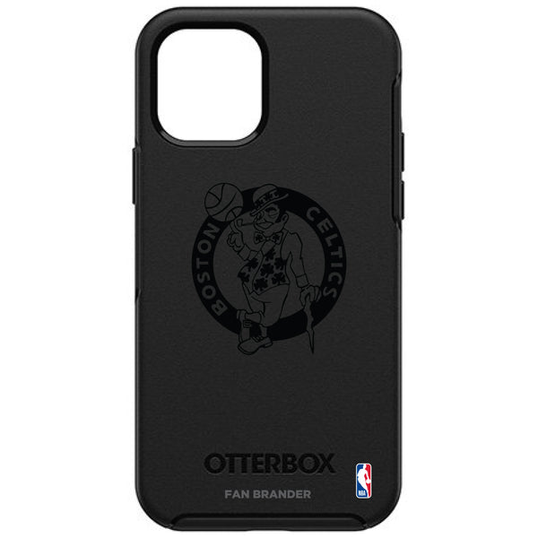 OtterBox Black Phone case with Boston Celtics Primary Logo in Black