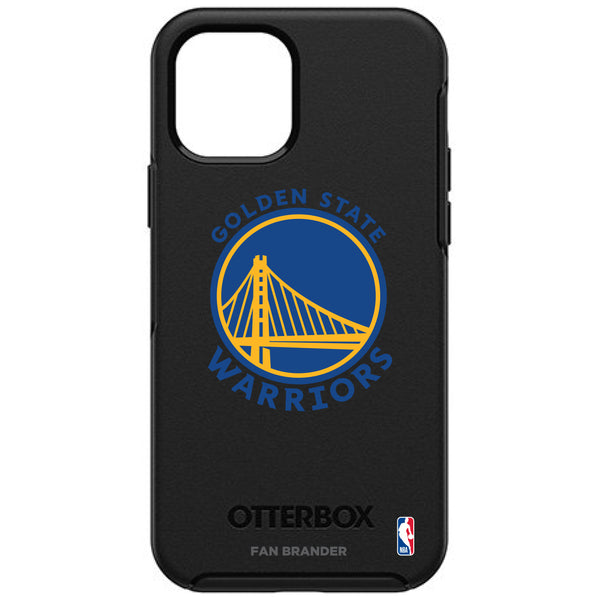 OtterBox Black Phone case with Golden State Warriors Primary Logo