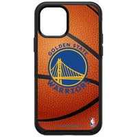 OtterBox Black Phone case with Golden State Warriors Basketball Background