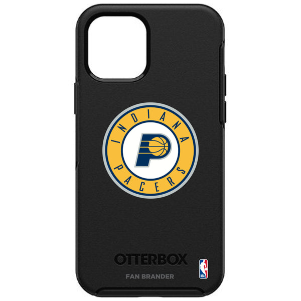 OtterBox Black Phone case with Indiana Pacers Primary Logo