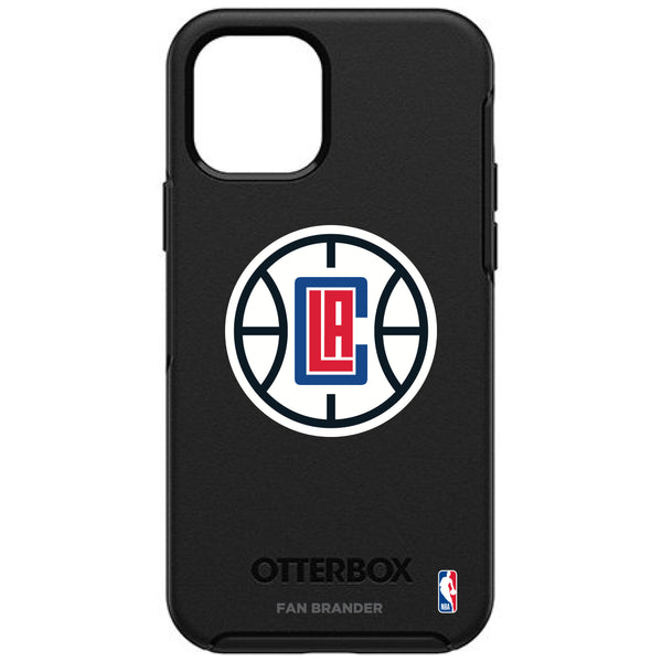 OtterBox Black Phone case with LA Clippers Primary Logo