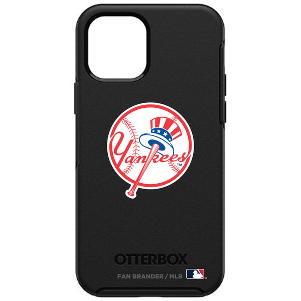 OtterBox Black Phone case with New York Yankees Secondary Logo