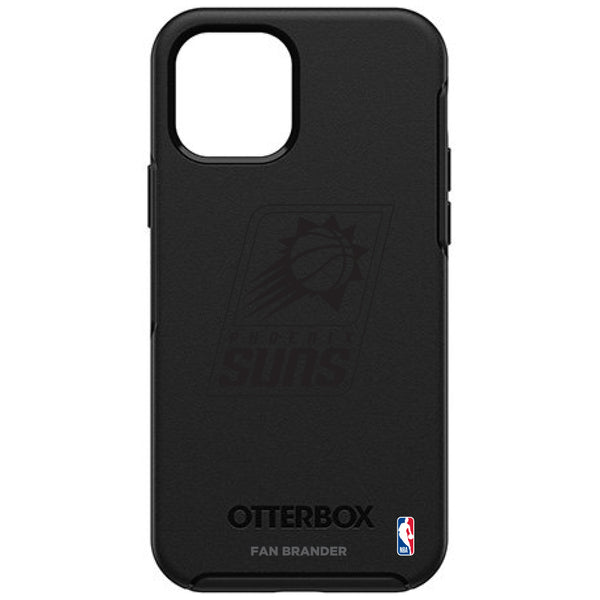 OtterBox Black Phone case with Phoenix Suns Primary Logo in Black