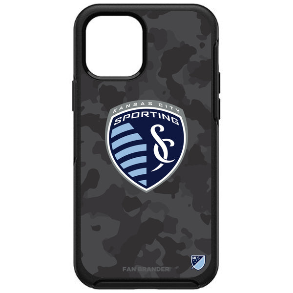 OtterBox Black Phone case with Sporting Kansas City Urban Camo Design