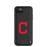 mophie Juice Pack Air battery phone case with Cleveland Indians Primary Logo