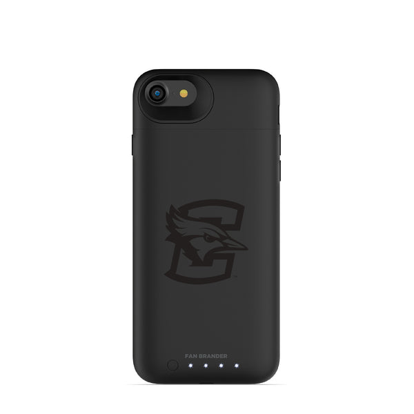 mophie Juice Pack Air battery phone case with Creighton University Bluejays Primary Logo in Black