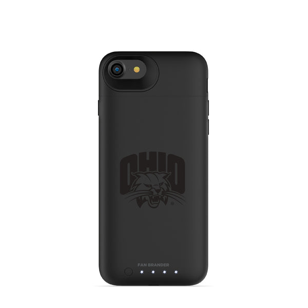 mophie Juice Pack Air battery phone case with Ohio University Bobcats Primary Logo in Black