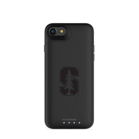mophie Juice Pack Air battery phone case with Stanford Cardinal Primary Logo in Black