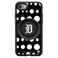 OtterBox Otter + Pop symmetry Phone case with Detroit Tigers Polka Dots design