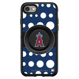 OtterBox Otter + Pop symmetry Phone case with Los Angeles Angels Polka Dots design