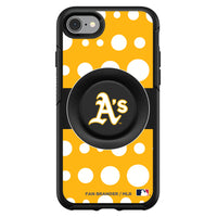 OtterBox Otter + Pop symmetry Phone case with Oakland Athletics Polka Dots design