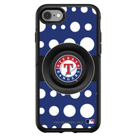 OtterBox Otter + Pop symmetry Phone case with Texas Rangers Polka Dots design