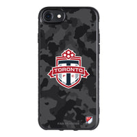 Fan Brander Black Slim Phone case with Toronto FC Urban Camo design