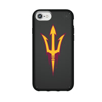 Speck Black Presidio Series Phone case with Arizona State Sun Devils Primary Logo