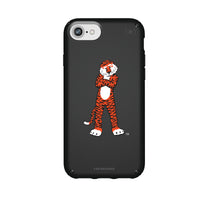 Speck Black Presidio Series Phone case with Auburn Tigers Secondary Logo
