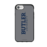 Speck Black Presidio Series Phone case with Butler Bulldogs Wordmark Design