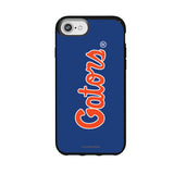Speck Black Presidio Series Phone case with Florida Gators Wordmark Design