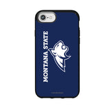Speck Black Presidio Series Phone case with Montana State Bobcats Wordmark Design