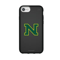 Speck Black Presidio Series Phone case with Northern Michigan University Wildcats Secondary Logo