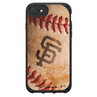 Speck Black Presidio Series Phone case with San Francisco Giants Primary Logo with Baseball Design