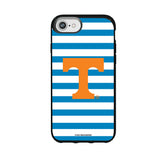 Speck Black Presidio Series Phone case with Tennessee Vols Primary Logo and Striped Design