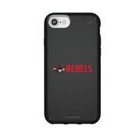 Speck Black Presidio Series Phone case with UNLV Rebels Secondary Logo