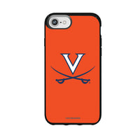 Speck Black Presidio Series Phone case with Virginia Cavaliers Primary Logo and Striped Design