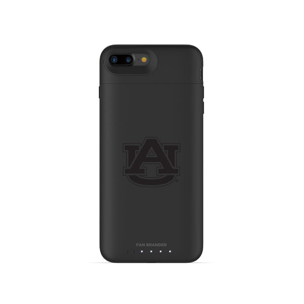 mophie Juice Pack Air battery phone case with Auburn Tigers Primary Logo in Black