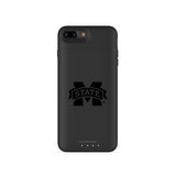 mophie Juice Pack Air battery phone case with Mississippi State Bulldogs Primary Logo in Black