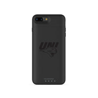 mophie Juice Pack Air battery phone case with Northern Iowa Panthers Primary Logo in Black
