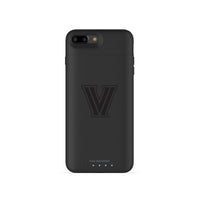 mophie Juice Pack Air battery phone case with Villanova University Primary Logo in Black
