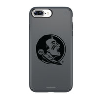 Speck Black Presidio Series Phone case with Florida State Seminoles Primary Logo in Black