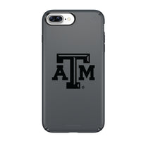 Speck Black Presidio Series Phone case with Texas A&M Aggies Primary Logo in Black