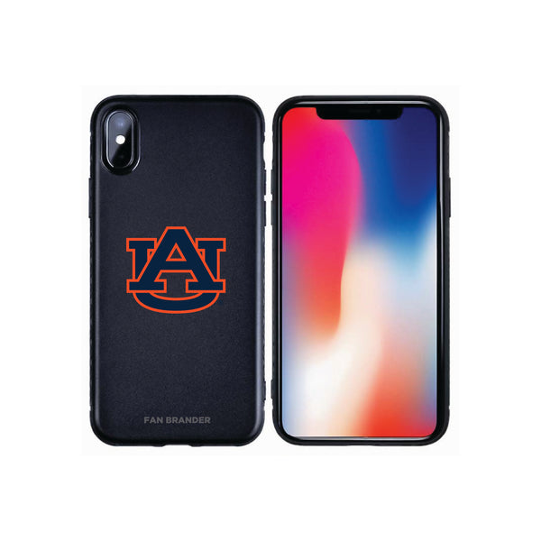 Fan Brander Black Slim Phone case with Auburn Tigers Primary Logo