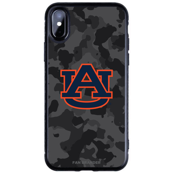 Fan Brander Black Slim Phone case with Auburn Tigers Urban Camo design