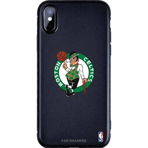 Fan Brander Black Slim Phone case with Boston Celtics Primary Logo
