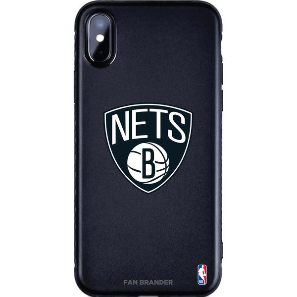 Fan Brander Black Slim Phone case with Brooklyn Nets Primary Logo