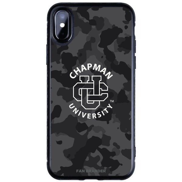 Fan Brander Black Slim Phone case with Chapman Univ Panthers Urban Camo design