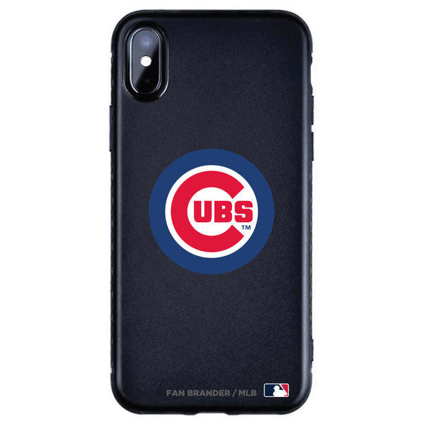 Fan Brander Black Slim Phone case with Chicago Cubs Primary Logo