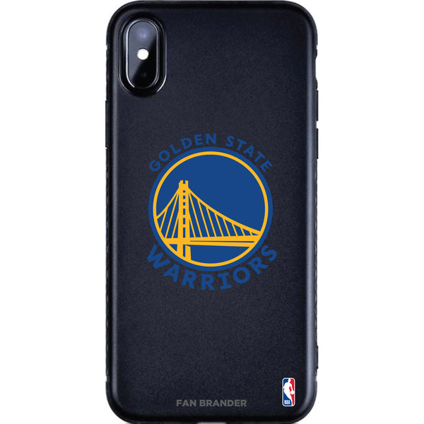 Fan Brander Black Slim Phone case with Golden State Warriors Primary Logo