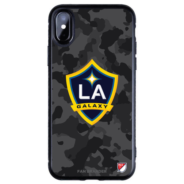 Fan Brander Black Slim Phone case with LA Galaxy Urban Camo design