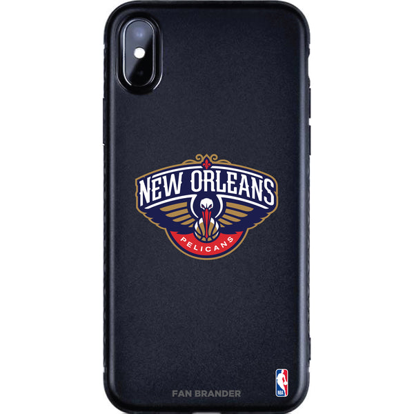 Fan Brander Black Slim Phone case with New Orleans Pelicans Primary Logo