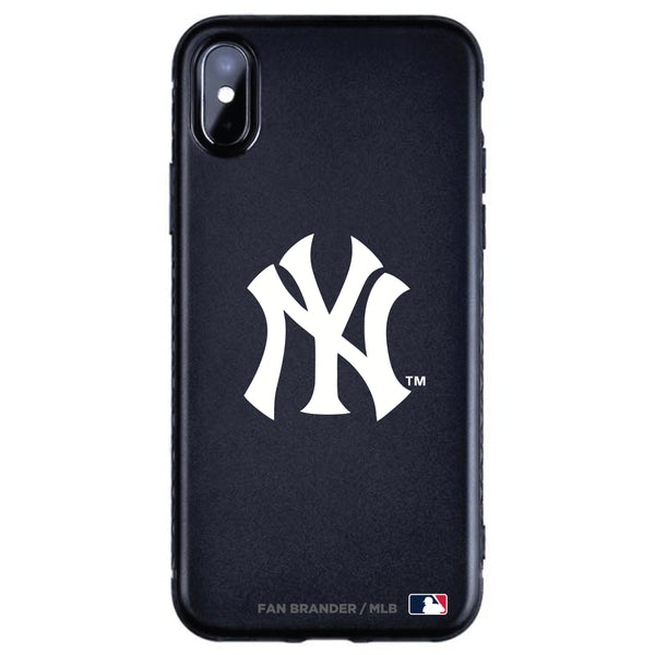 Fan Brander Black Slim Phone case with New York Yankees Primary Logo