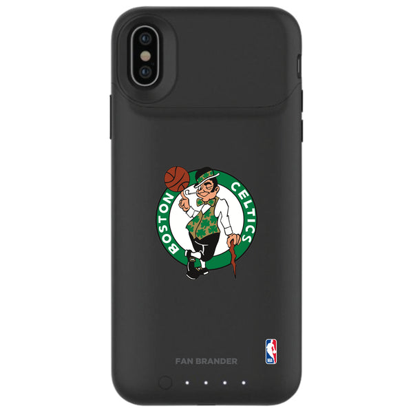 mophie Juice Pack Air battery phone case with Boston Celtics Primary Logo