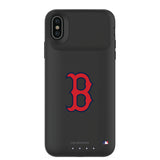 mophie Juice Pack Air battery phone case with Boston Red Sox Primary Logo