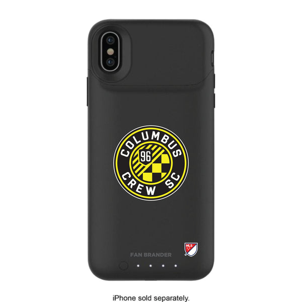 mophie Juice Pack Air battery phone case with Columbus Crew SC Primary Logo