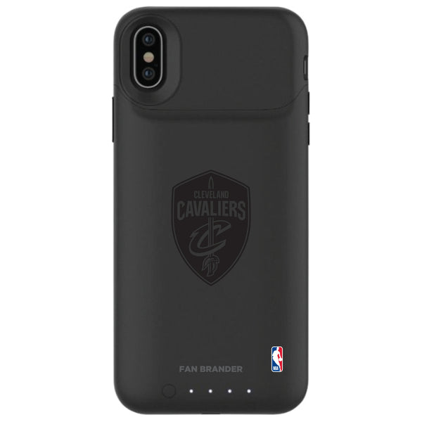 mophie Juice Pack Air battery phone case with Cleveland Cavaliers Primary Logo in Black