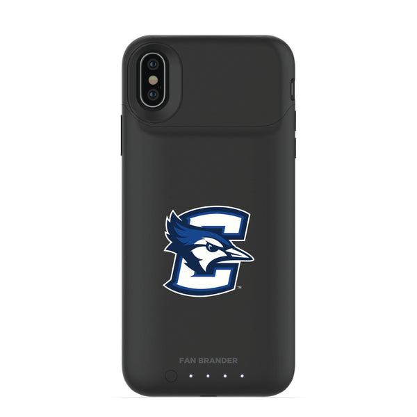 mophie Juice Pack Air battery phone case with Creighton University Bluejays Primary Logo