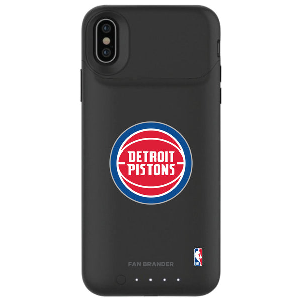 mophie Juice Pack Air battery phone case with Detroit Pistons Primary Logo